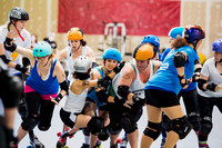 TXRG Rec: The Mary Marvels (White)  vs Fantastic Four Wheelers (Blue)