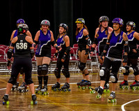 Cen-Tex Sirens vs San Antonio Roller Derby Charmed Forces