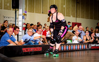 TXRG 05.21.16: Champs bout 1 (3rd) Honky Tonk Heartbreakers vs Hotrod Honeys