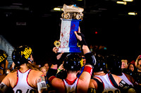 Texas Rollergirls Champs  08.16.14 - The Hotrod Honeys vs The Hell Marys