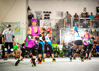 Rockin' City Rollergirls VS Gulf Coast Roller Girls 09.10.16