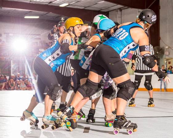 RCRG 04.22.17: Rockin' City  A-Team vs  ACRG  Las Tejanas