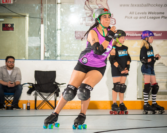 Rockin' City Rebels vs San Antonio Sugar Skulls