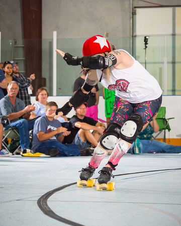 Rockin' City Rollergirls (B-Team) vs  Big D Rollergirls